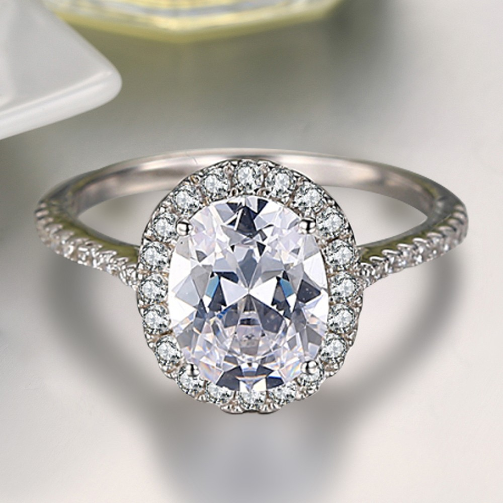 cut diamond engagement rings solitaire trend jewelry oval