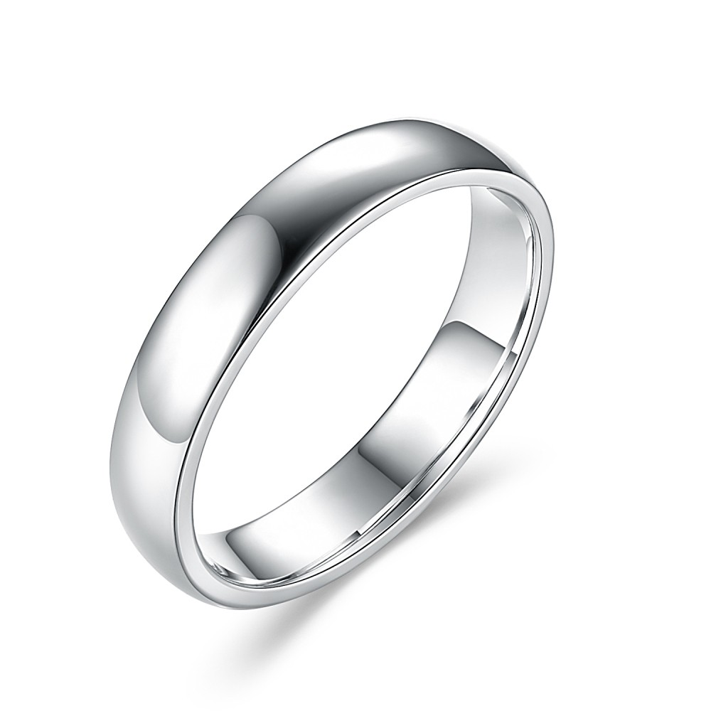 Simplistic Bands: Simple 925 Sterling Silver Women's Wedding Bands