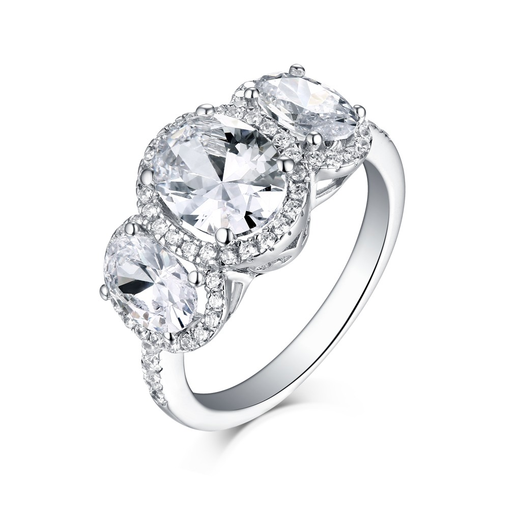 diamond on rings of oval hands engagement cut luxury carat wedding ring classic