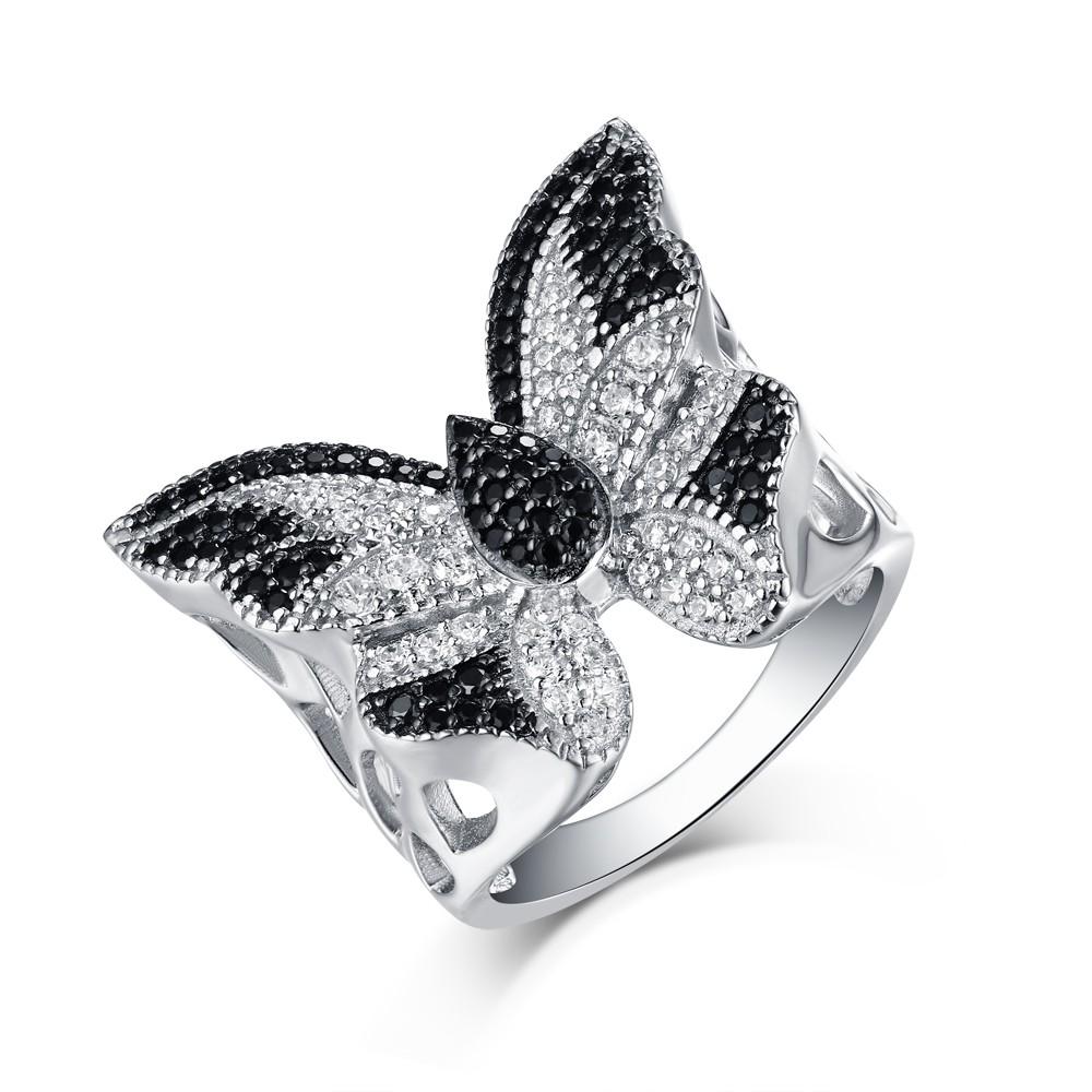 ring next jewellery previous silver butterfly flux rings product studio