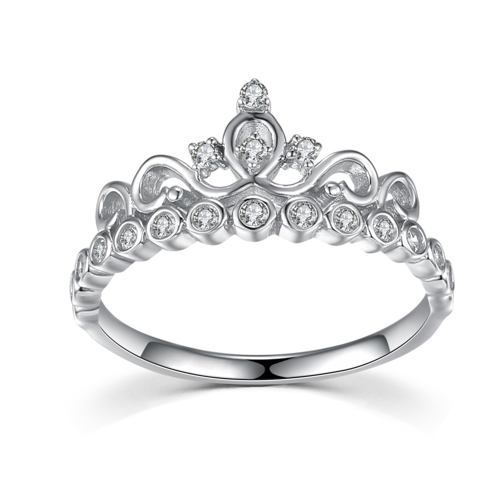 Personalized Sterling Silver Promise Rings