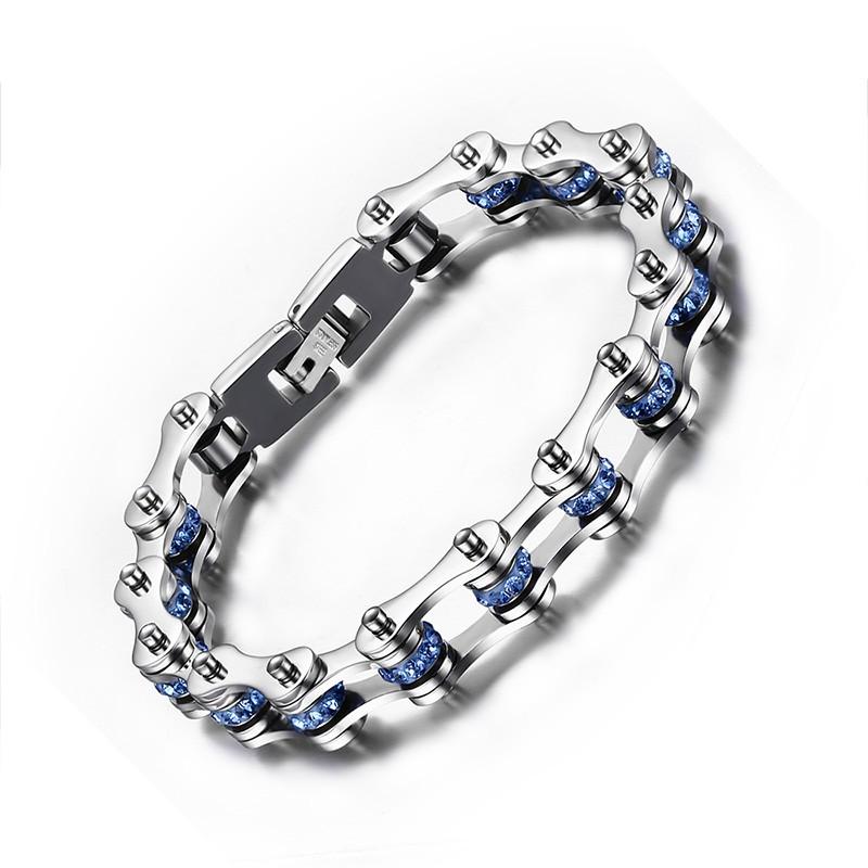 Chain Design 925 Sterling Silver Bracelet
