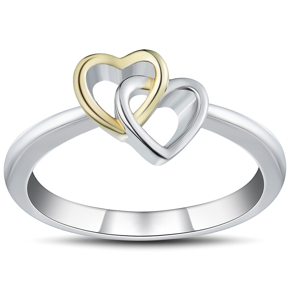 Romantic 925 Sterling Silver Promise Rings For Her