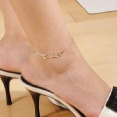 Unique S925 Silver Personalized Name Anklets
