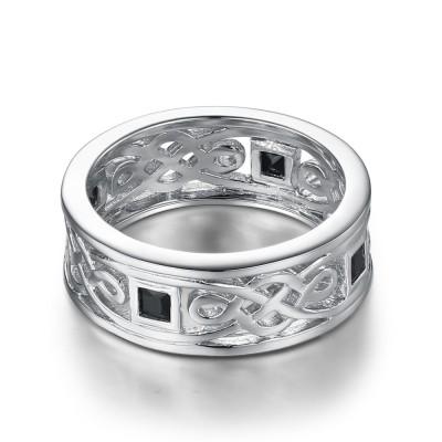 925 Sterling Silver Wedding Bands For Men