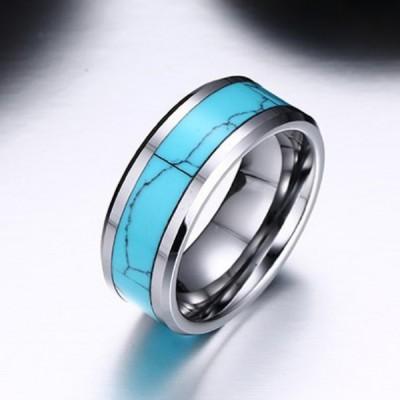 Tungsten Silver Special Men's Ring