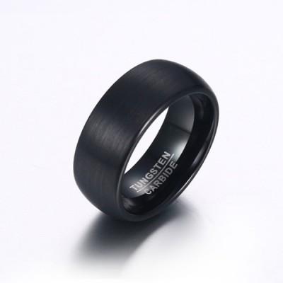 Tungsten Black Men's Ring