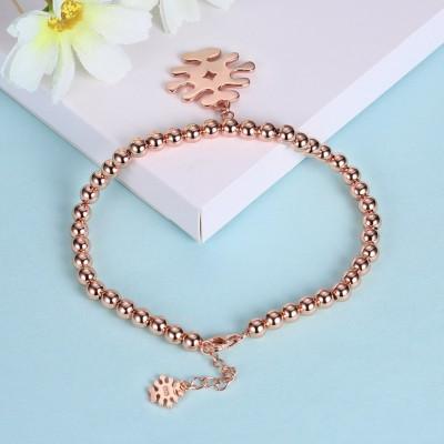 Rose Gold/Silver/Gold Lovely Pendant S925 Silver Bracelets
