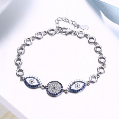 Royal Blue Accessories S925 Silver Bracelets