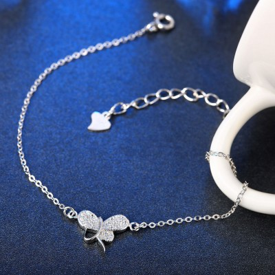 Simple Lovely Pendant S925 Silver Bracelets