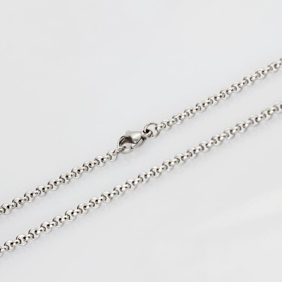 Silver Titanium Steel 3mm Chains