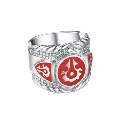 Unique 925 Sterling Silver Men's Ring